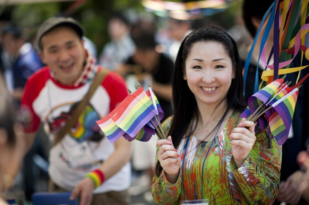 Narth homosexuality in japan