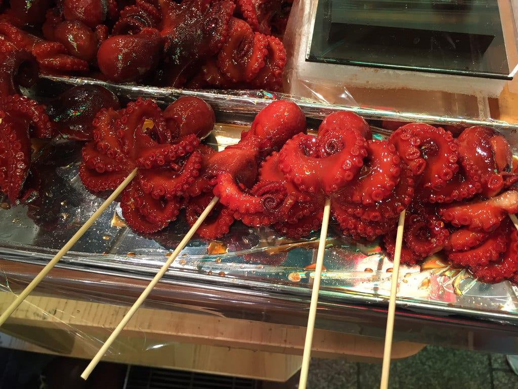 Osaka food travel in Japan
