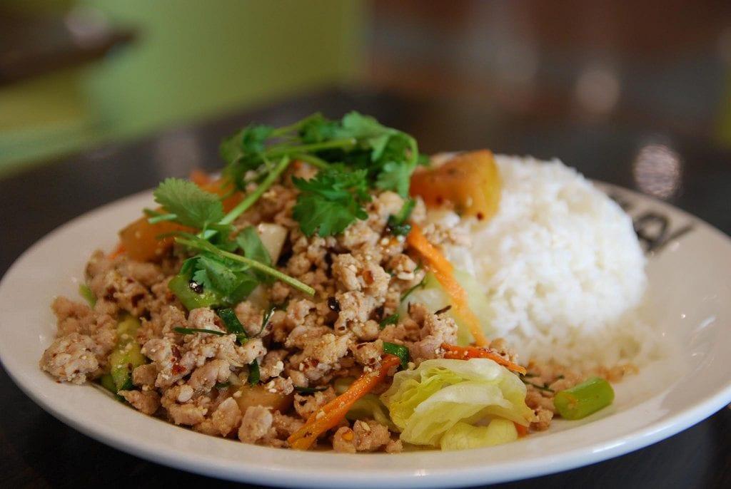 laos saap, backpacking southeast asia food