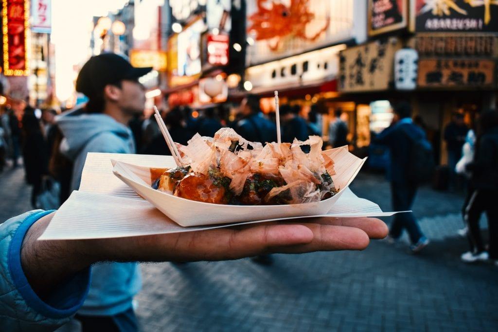 takoyaki, osaka, street food, dotonbori, activities teenagers japan