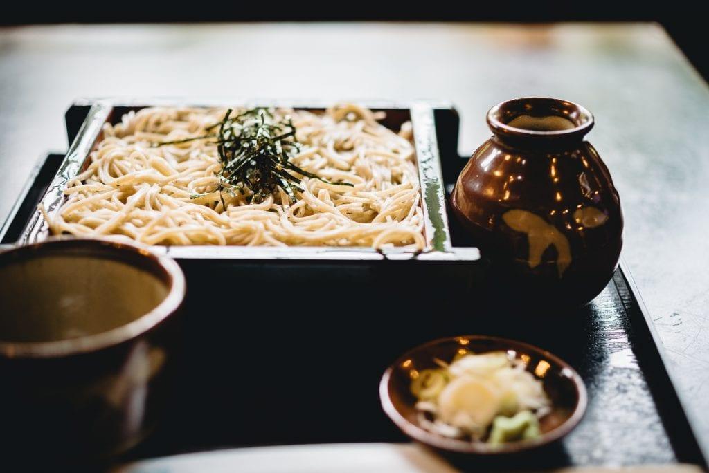soba, noodles, backpacker, affordable travel Japan, budget