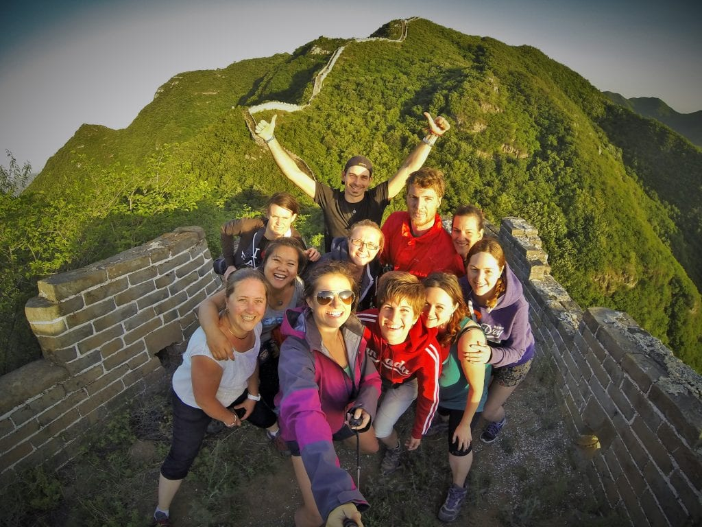 backpacking in china