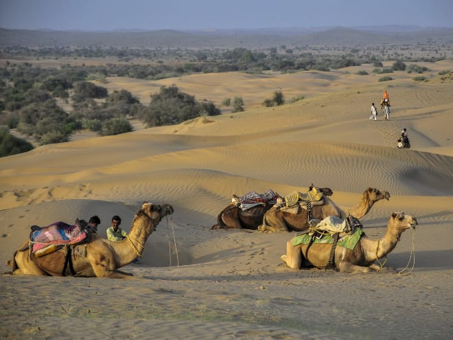backpacking tours in India