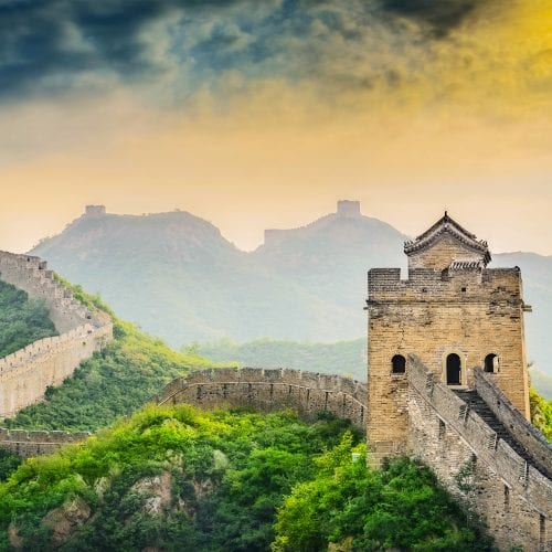 The Great Wall of China on China tours