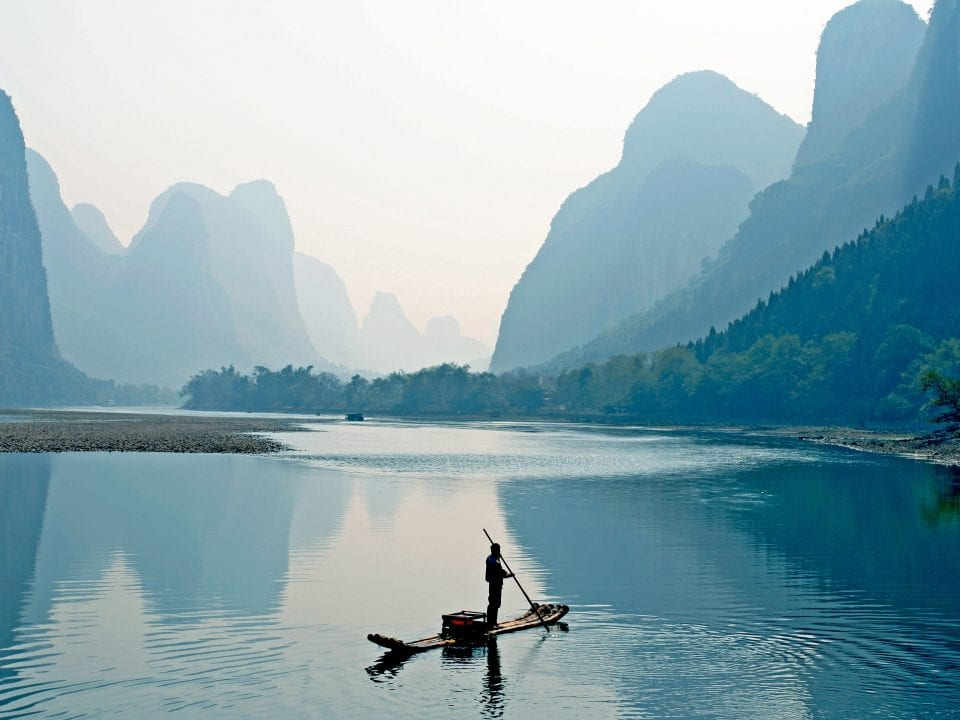 Yangshuo Bamboo Raft on China tours