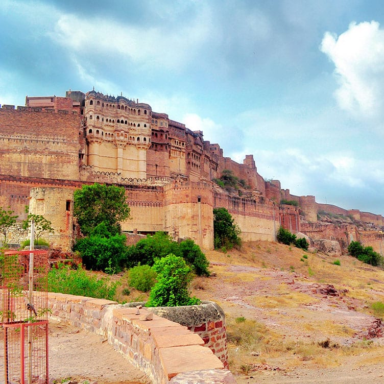 Group activity at Mehrangarh Fort