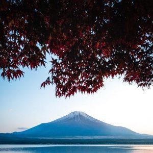 Mount Fuji views on Japan budget tour