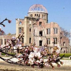 Visit to Hiroshima peace memorial