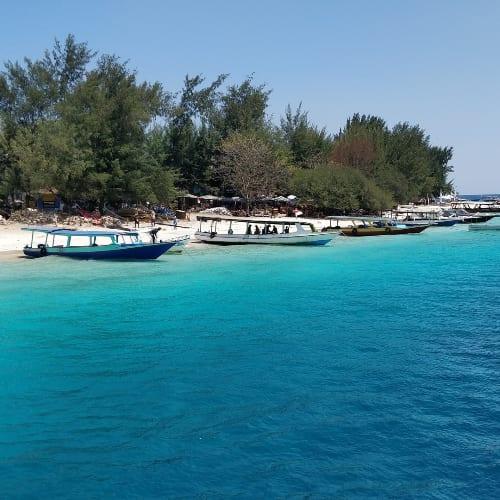 Boat tour beginning from Gili Trangwan