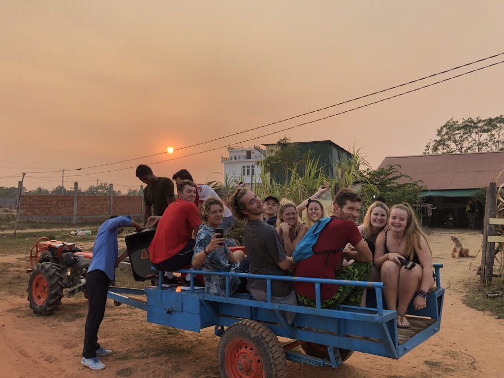 Group tour in Siem Reap