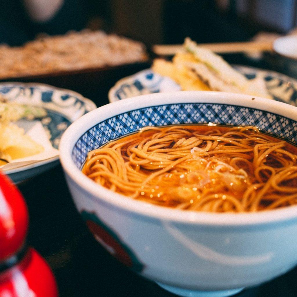Japan in winter food