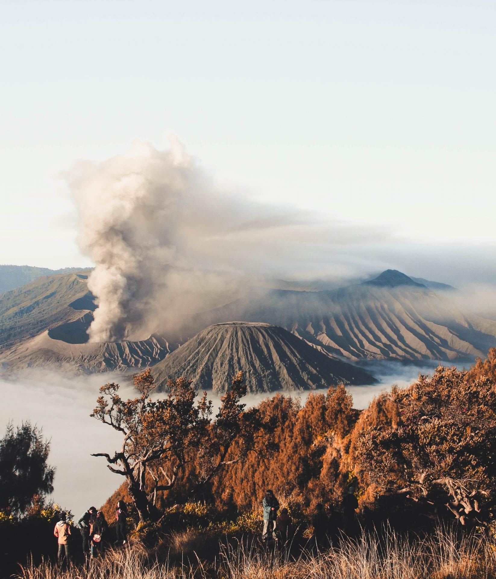 Views of Mount Bromo