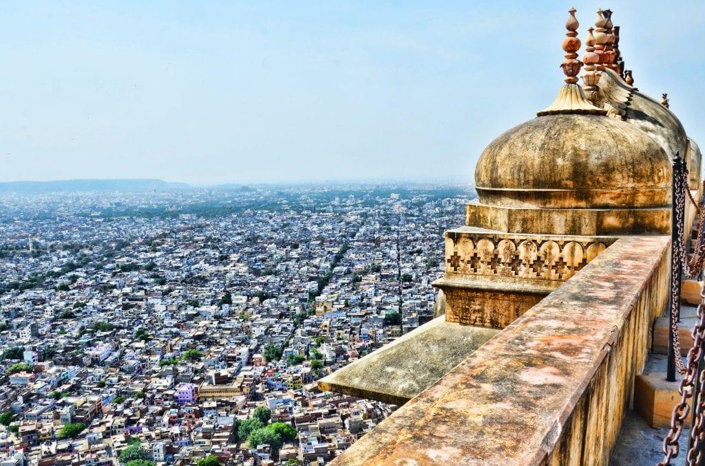 Jaipur city skyline, India, Asia