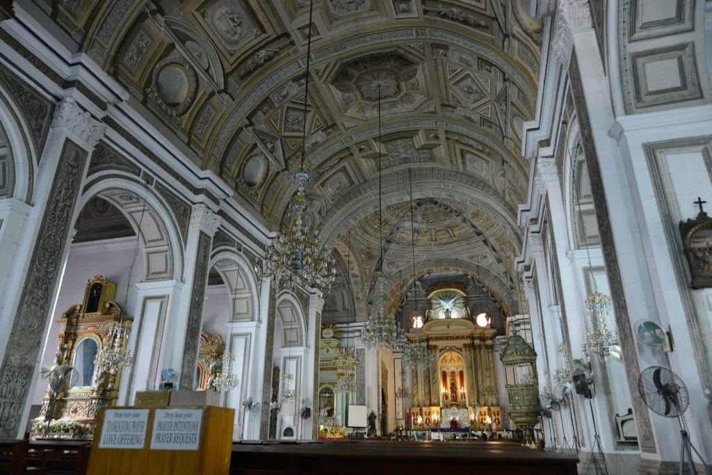 San Agustin Church seen on Manila Tour