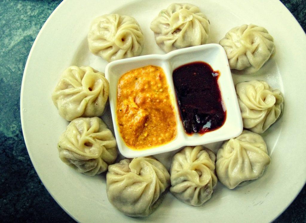 Nepal momos plate