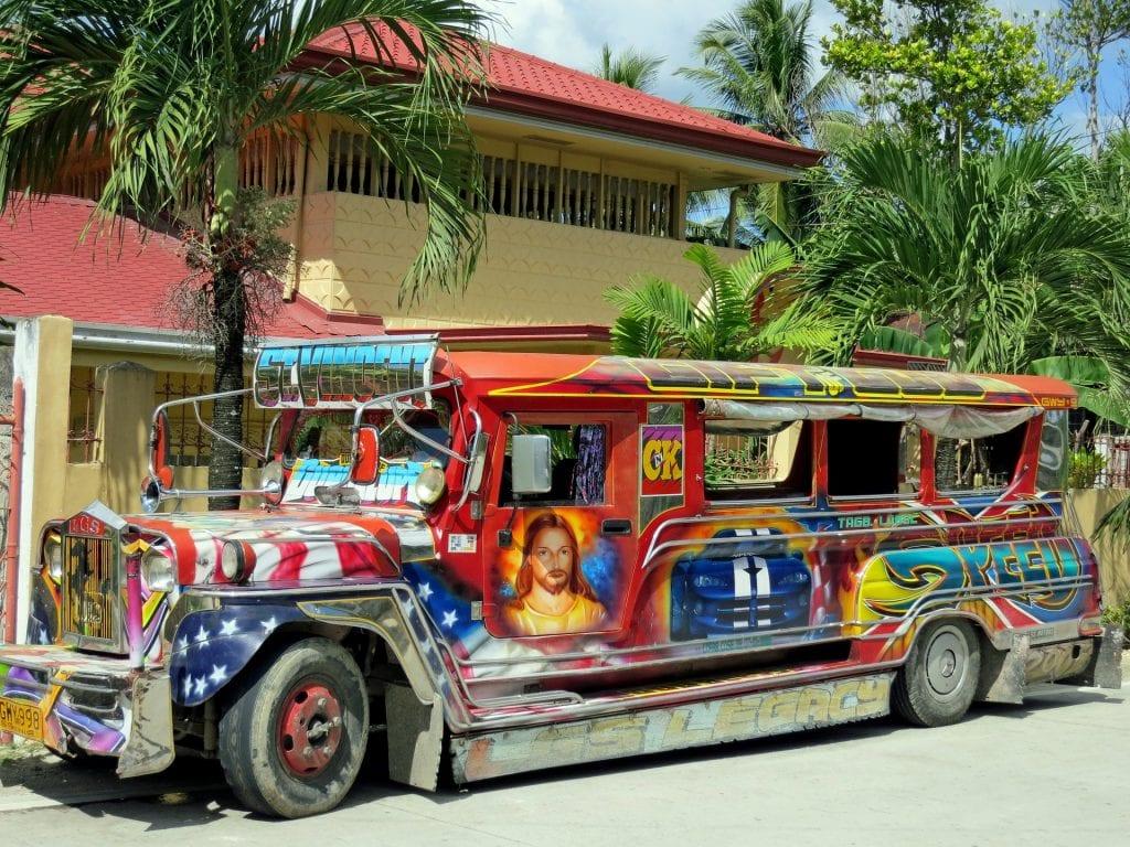 Jeepney from Manila Tour