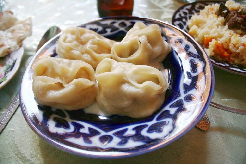 Central Asian dumplings