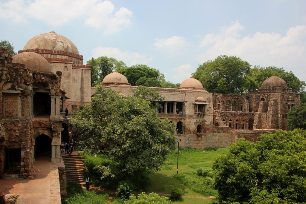 Hauz khas village ruins