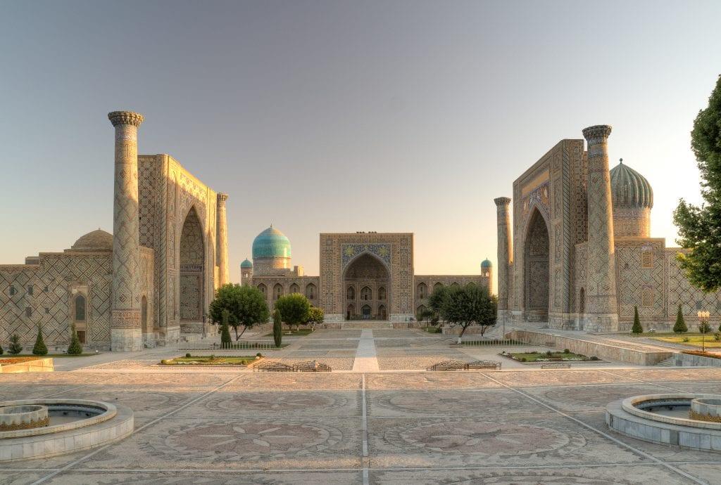Registan Square Site
