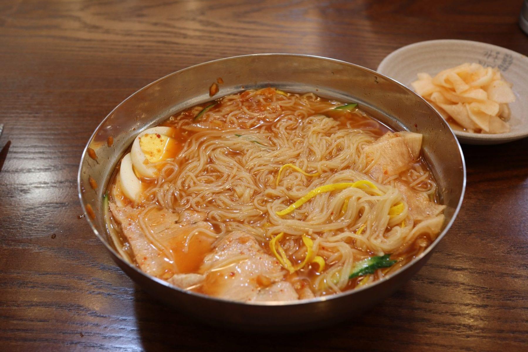 Milmyeon food in Busan