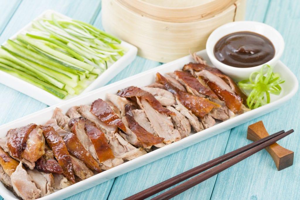 Peking Roast Duck in Beijing