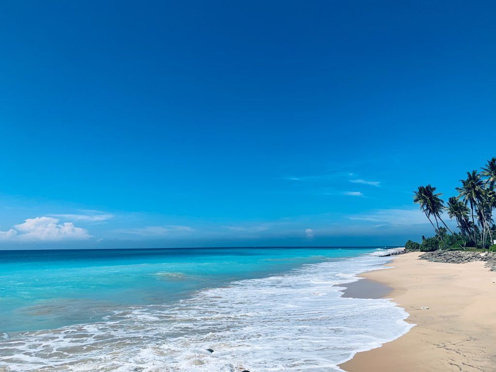 Playa de Sri Lanka